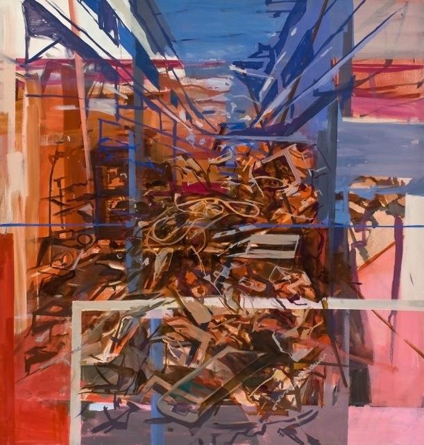"Export  Marie Thibeault LT177 Oil on Canvas 60"" x 57"""