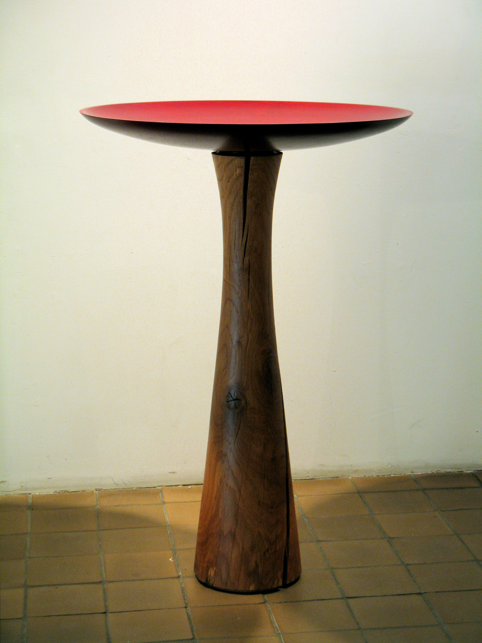 """Defining the View Series IX  Roger Foster FS133 Mahogany with Red Dye, White Oak 50"""" x 34"""" x 43"""""""