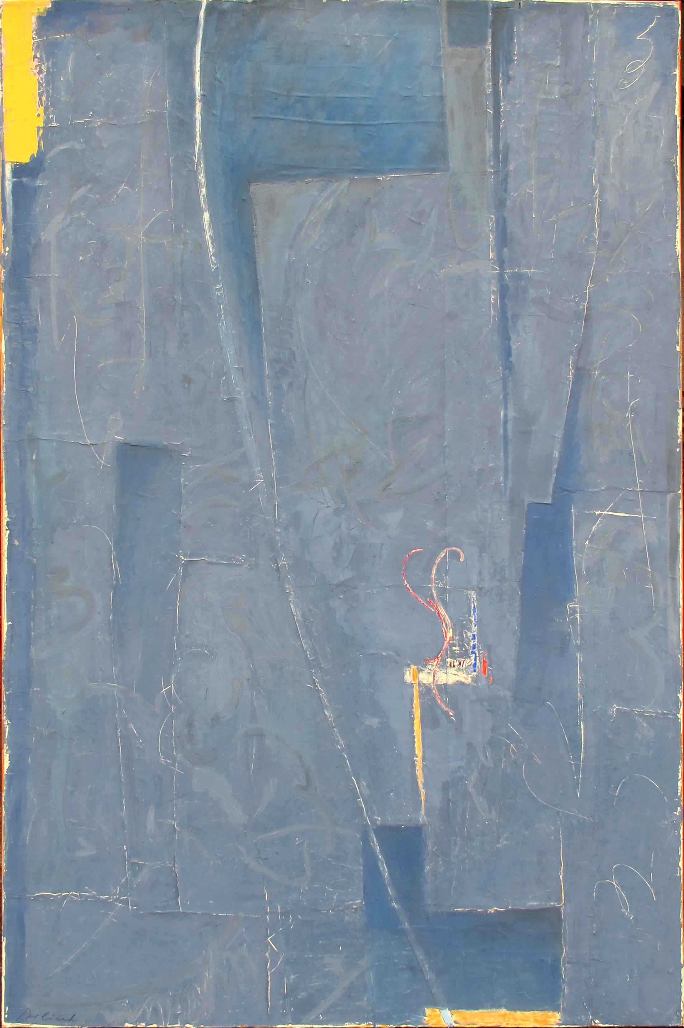 "1957  John Pavlicek JP3377 Mixed Media on Canvas 66"" x 42"""