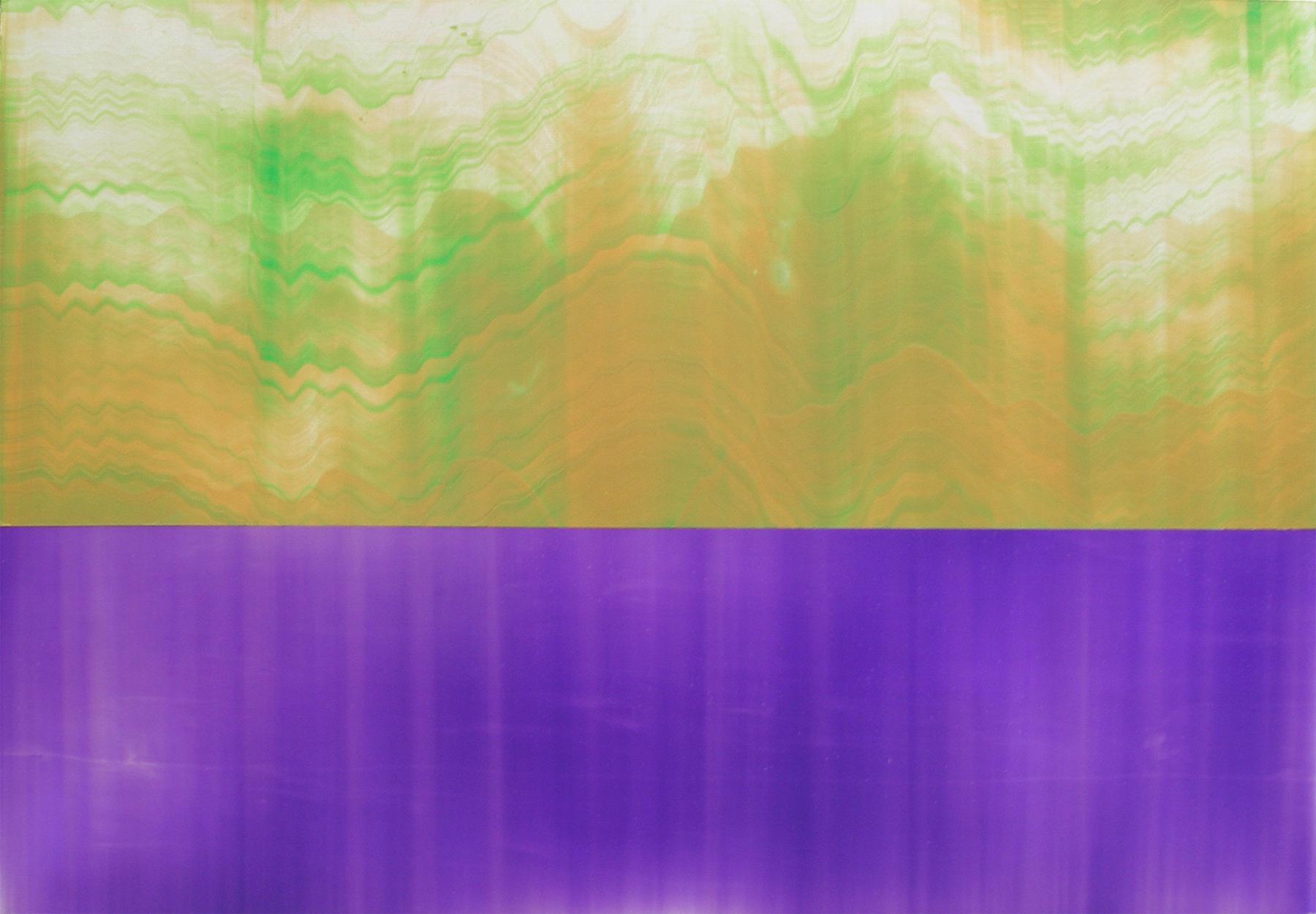 """Untitled  Thomas Zitzwitz ZW109 Acrylic on Canvas 34.25"""" x 48.5"""""""