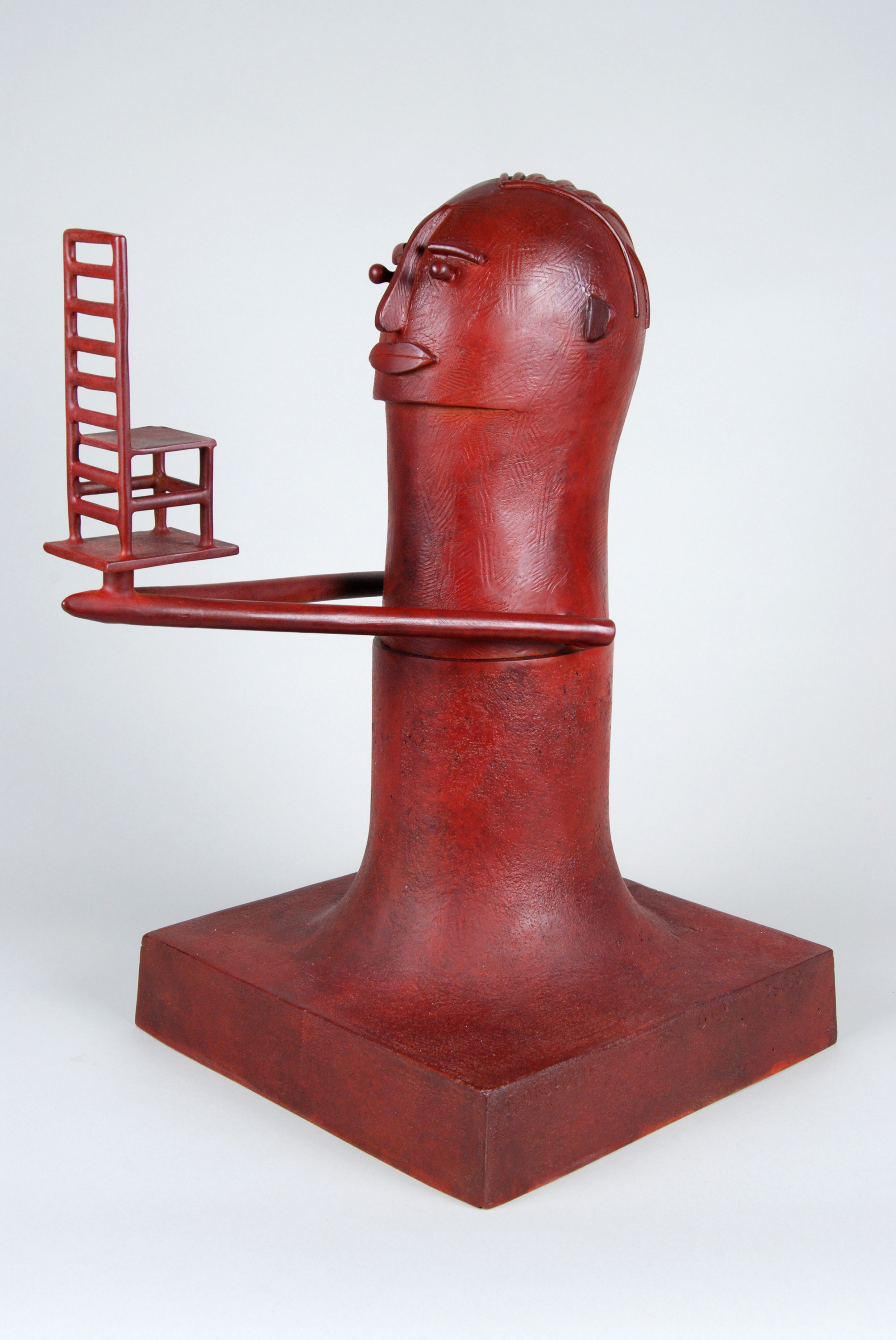 """Monologue  Stephen Daly SD100 Patina on cast Bronze 16.75"""" x 10"""" x 13.25"""""""