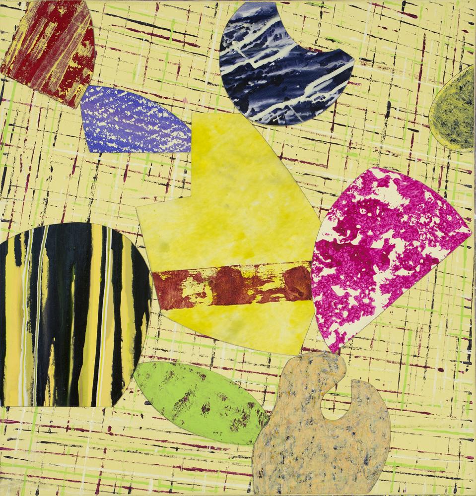 "Bright Moments   Jerrold Burchman  BU294  Acrylic on Canvas  20"" x 20"""