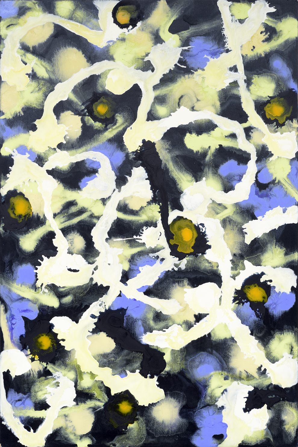 "Daner for Turner / 2   Jerrold Burchman  BU298  Acrylic on Wood Panel  36"" x 24"""