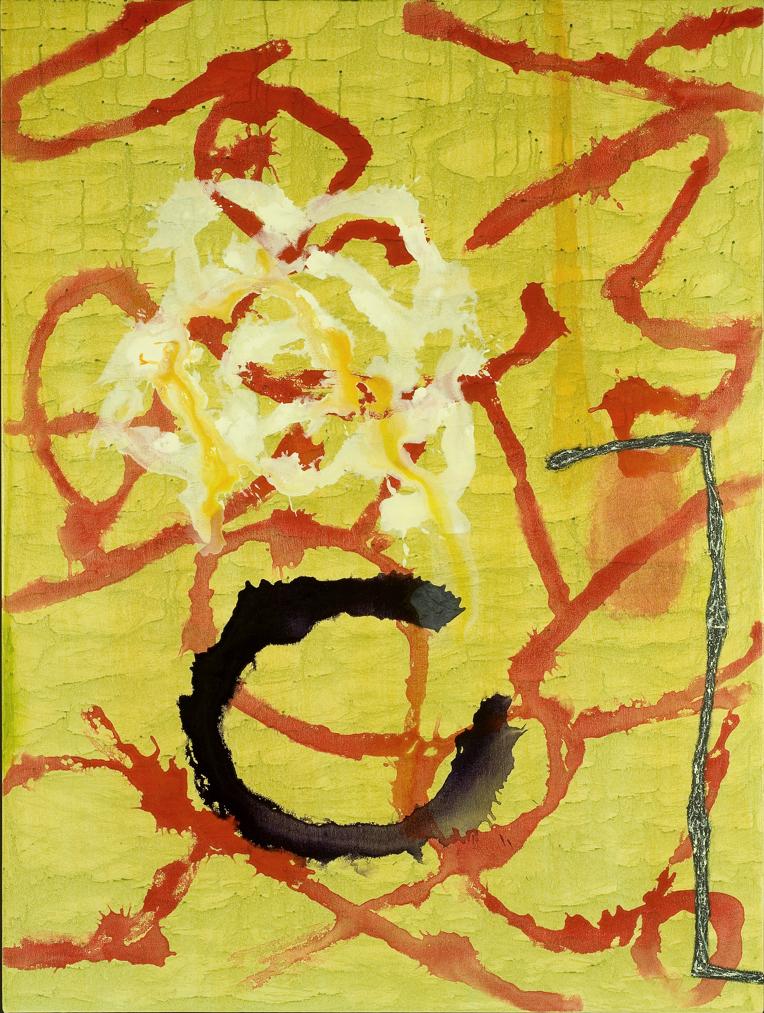 "Patterns / 36   Jerrold Burchman  BU299  Acrylic on Canvas  48"" x 36"""