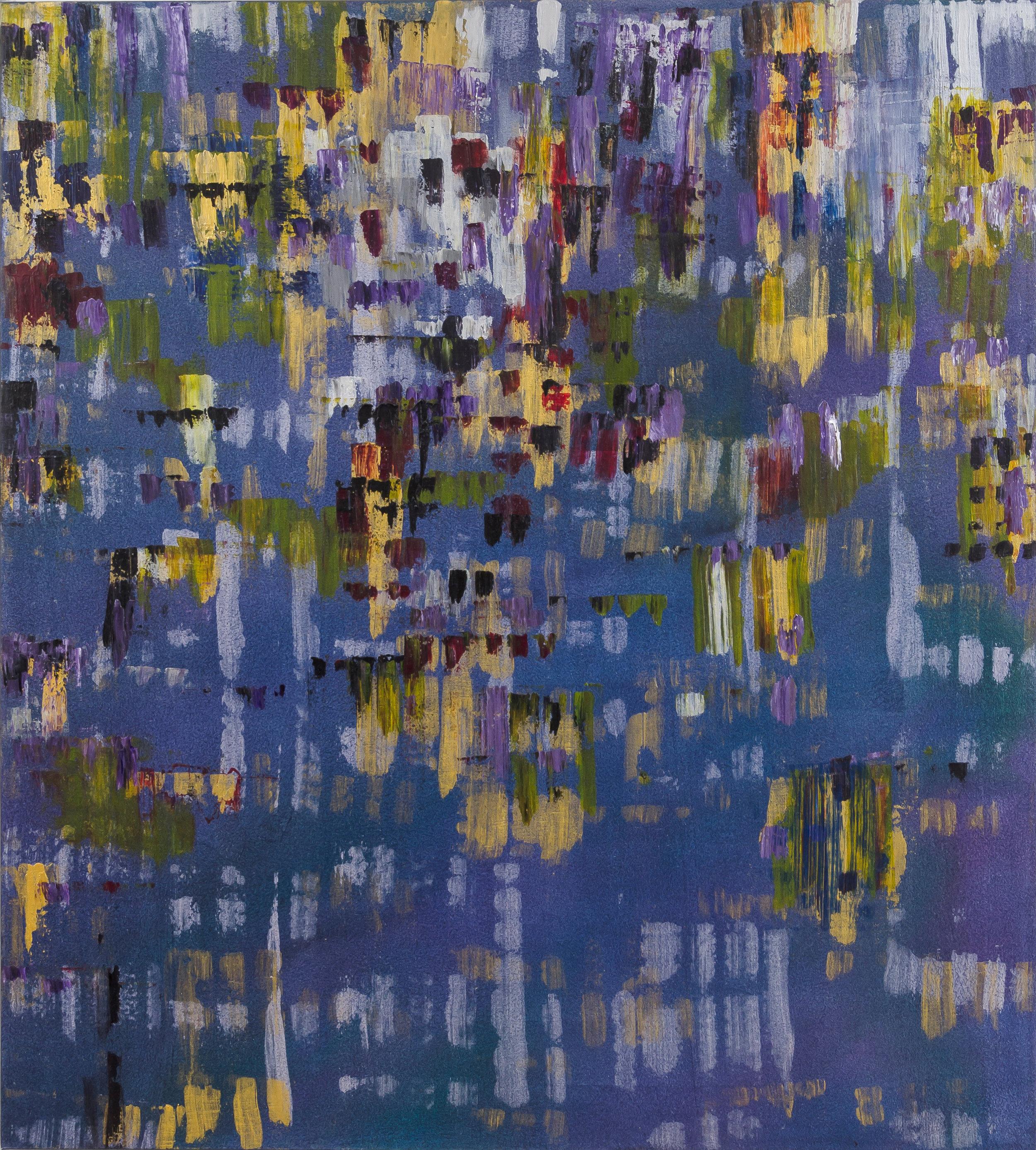 "Liminal Spaces 166 Elizabeth Chandler EC1093 Acrylic on Canvas 60"" x 54"""