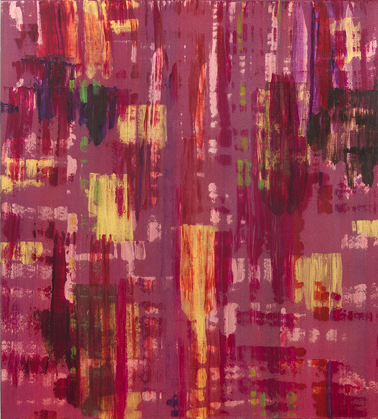 "Liminal Spaces 134 Elizabeth Chandler EC1100 Acrylic on Canvas 60"" x 54"""