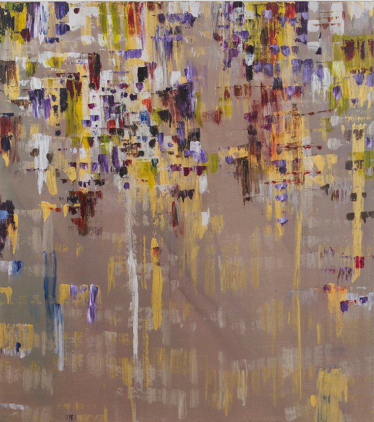 "Liminal Spaces 167 Elizabeth Chandler EC1103 Acrylic on Canvas 60"" x 54"""