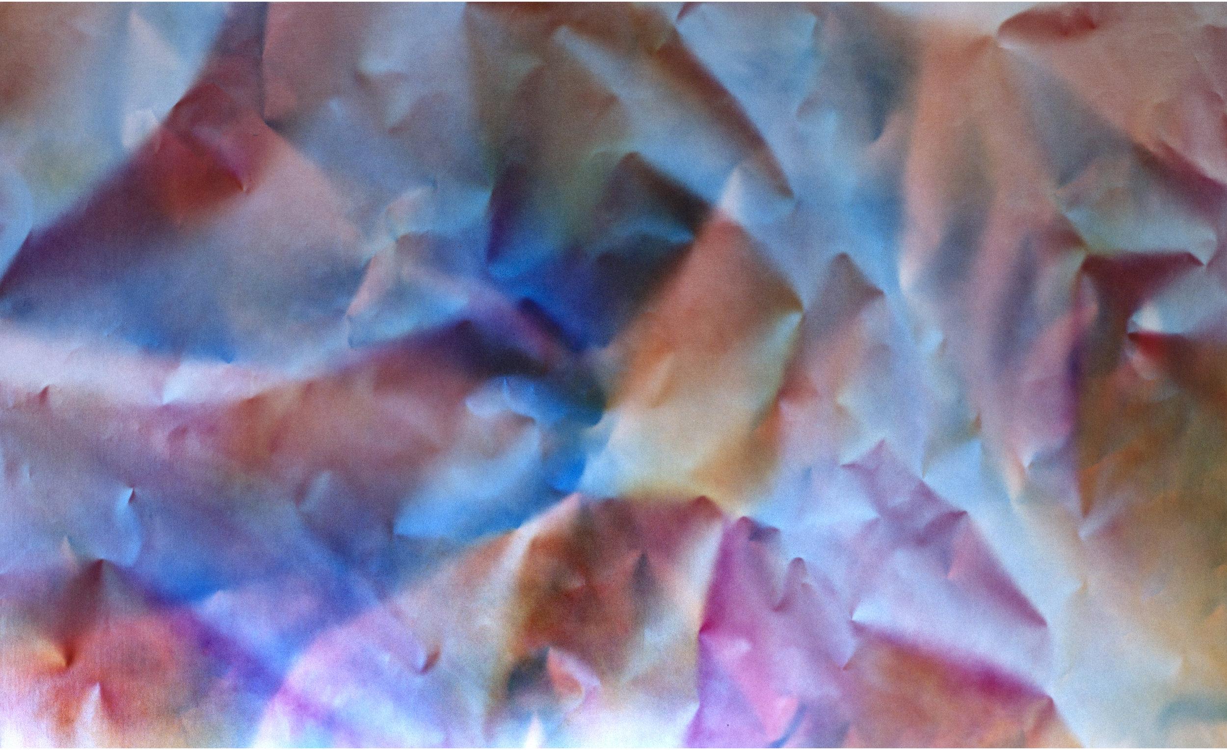 """Untitled  Thomas Zitzwitz ZW167 Acrylic on Canvas 46"""" x 75"""""""