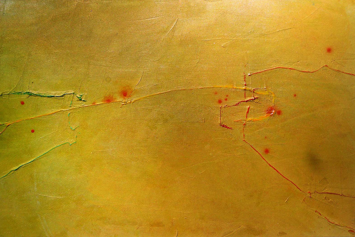 "Untitled Study     Robert Rector RE4688 Mixed Media on Paper 15"" x 22.5"""