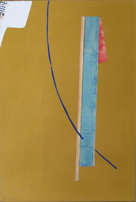 "La Costa 1  John Pavlicek JP3398 Mixed Media on Canvas 24"" x 16"""
