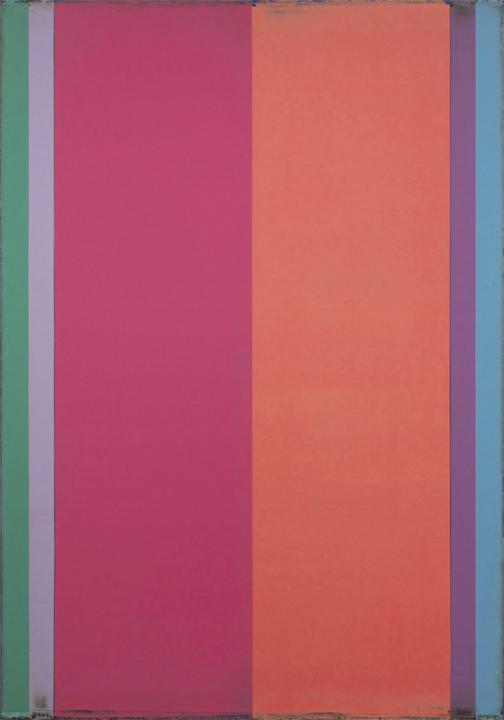 "Reverb 5  Steven Alexander SA821 Acrylic on Canvas 60"" x 42"""