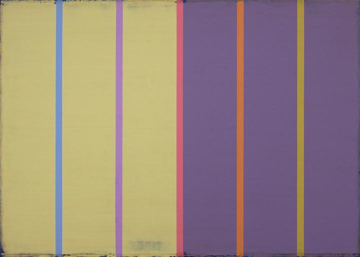 """Tracer 8  Steven Alexander SA824 Acrylic on Canvas 30"""" x 42"""""""