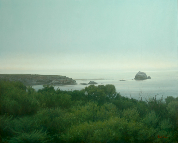"Coastal Horizon II  Bruce Brainard BR953 Oil on Canvas 48"" x 60"""