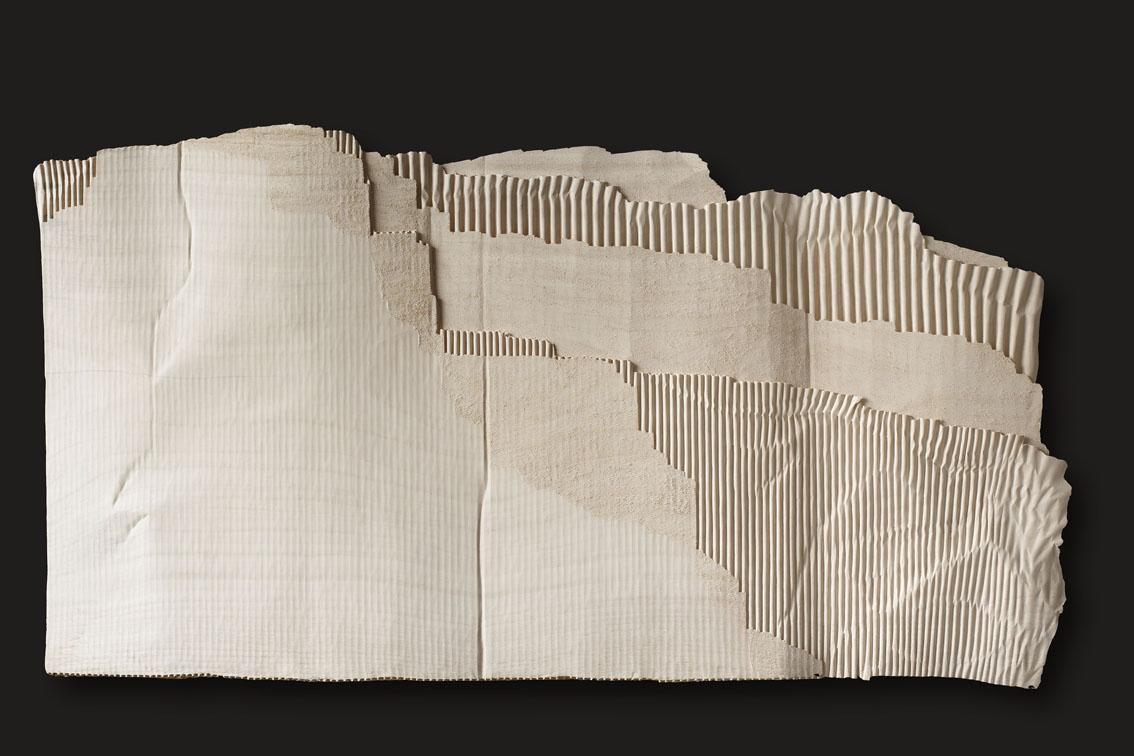 """Grand carton-paysage  Christian Renonciat Ayous Wood 36"""" x 67"""""""