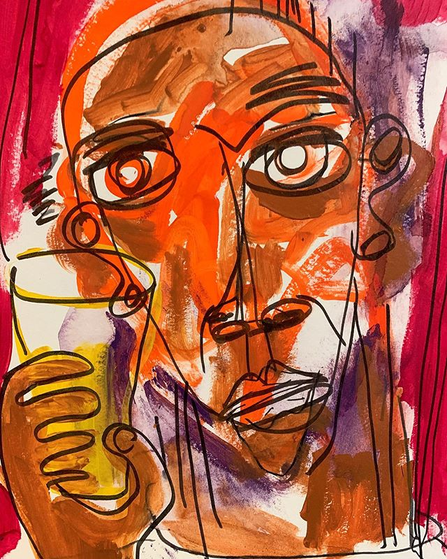 Beer rivers and seas of beer the radio singing love songs as the phone remains silent and the walls stand straight up and down and beer is all there is. #bukowski  #shahryarshahamat