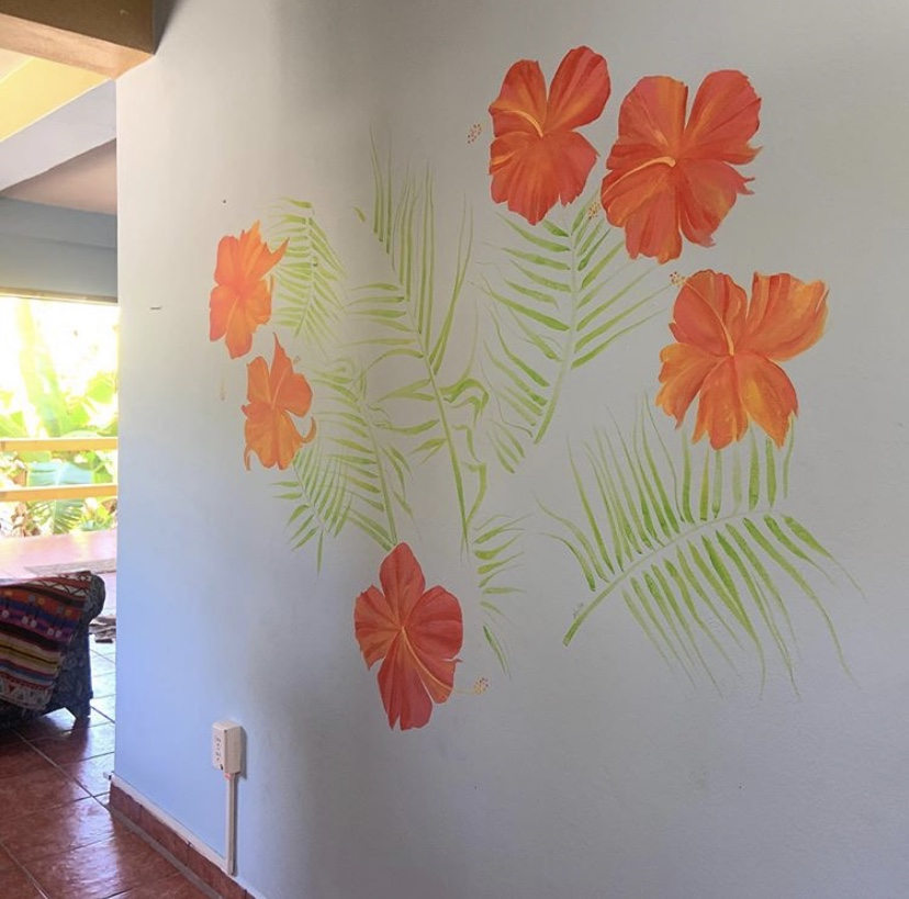 Love Flower Mural