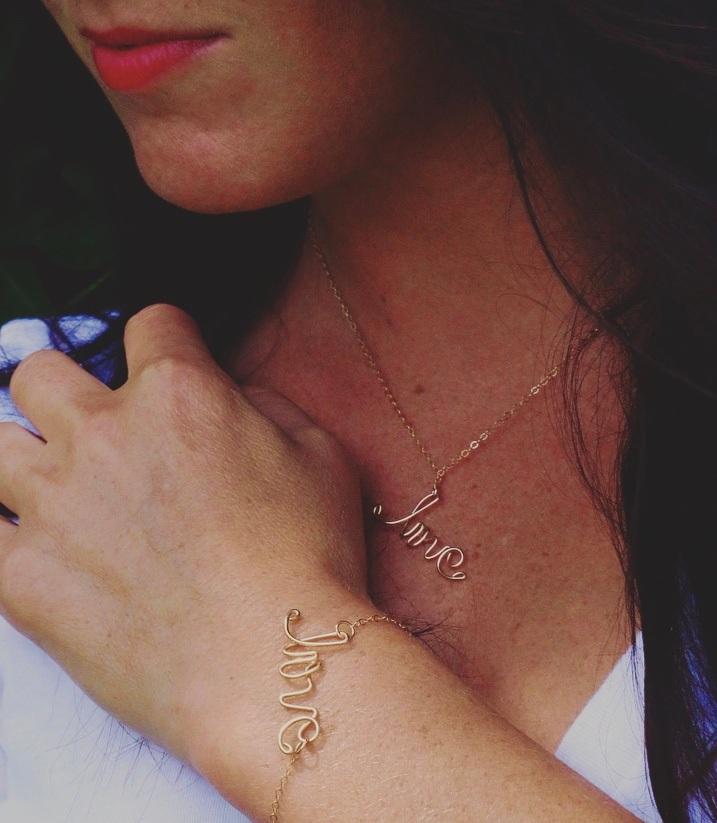 Meg love bracelet and baby love.jpg