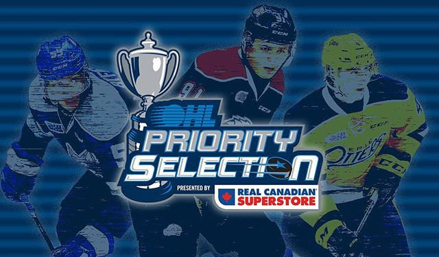 Best of luck to all players! Good luck with the next step in your journey! #ohl #ohldraft