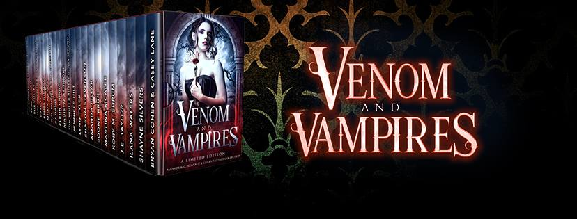Get Books with Bite and more... Pre-order Venom & Vampires for $0.99 today and get 10 free books to read now!: Go here To Preorder and Sign Up