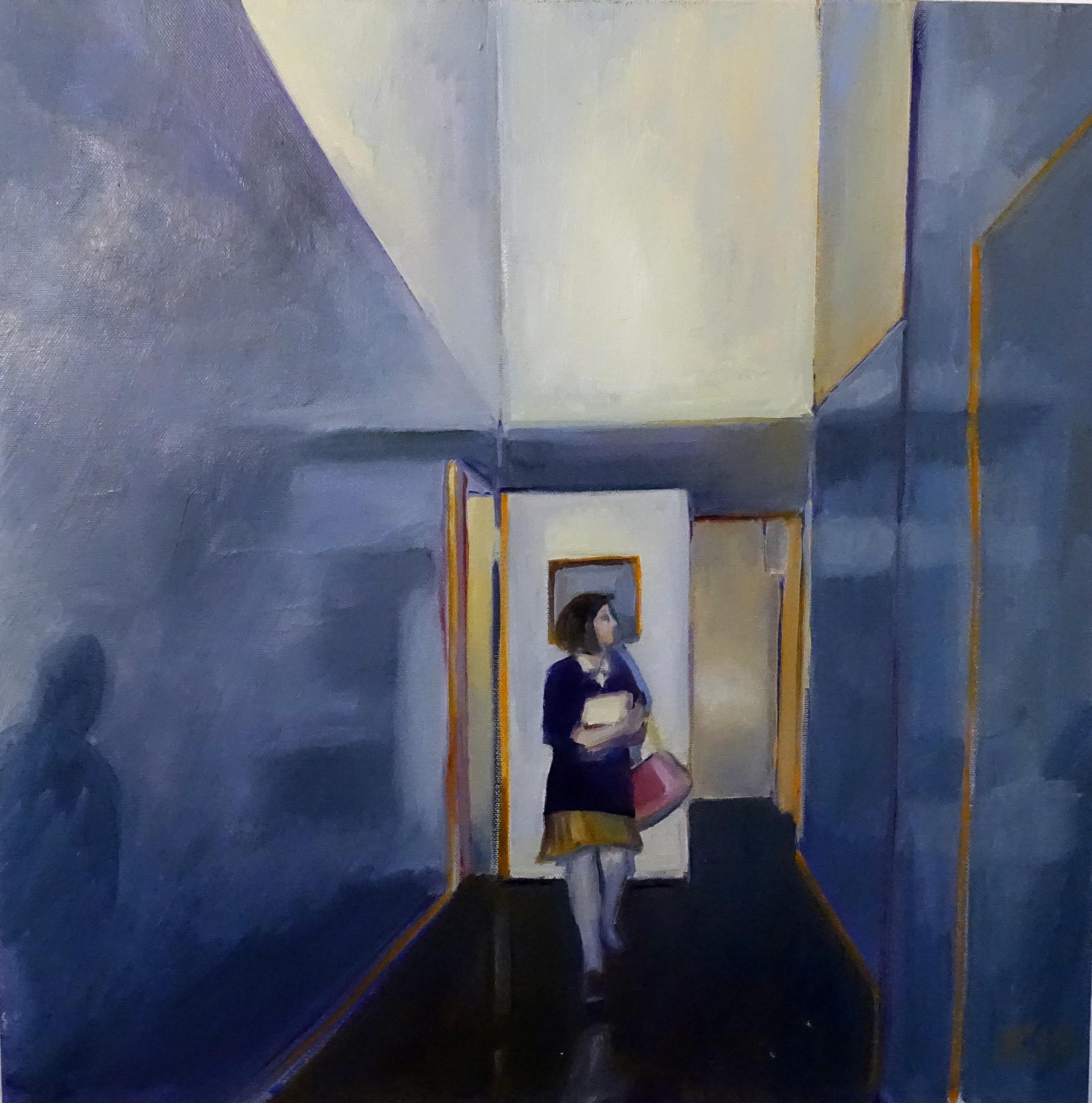 5.Crow. Corridor 18x18.OilonCanvas.jpeg