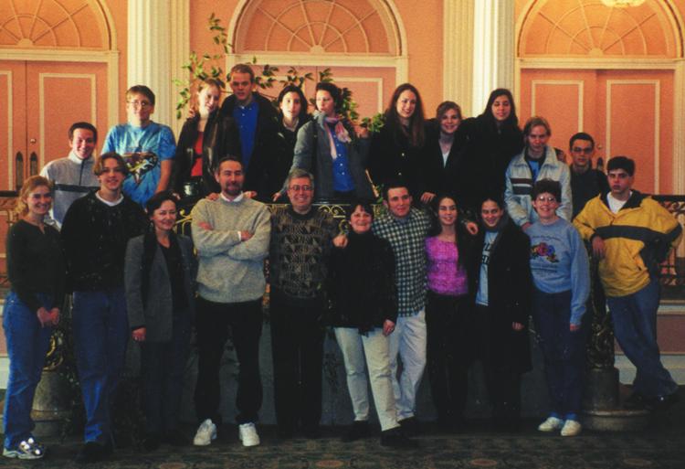 Austrian Group Visits GHS