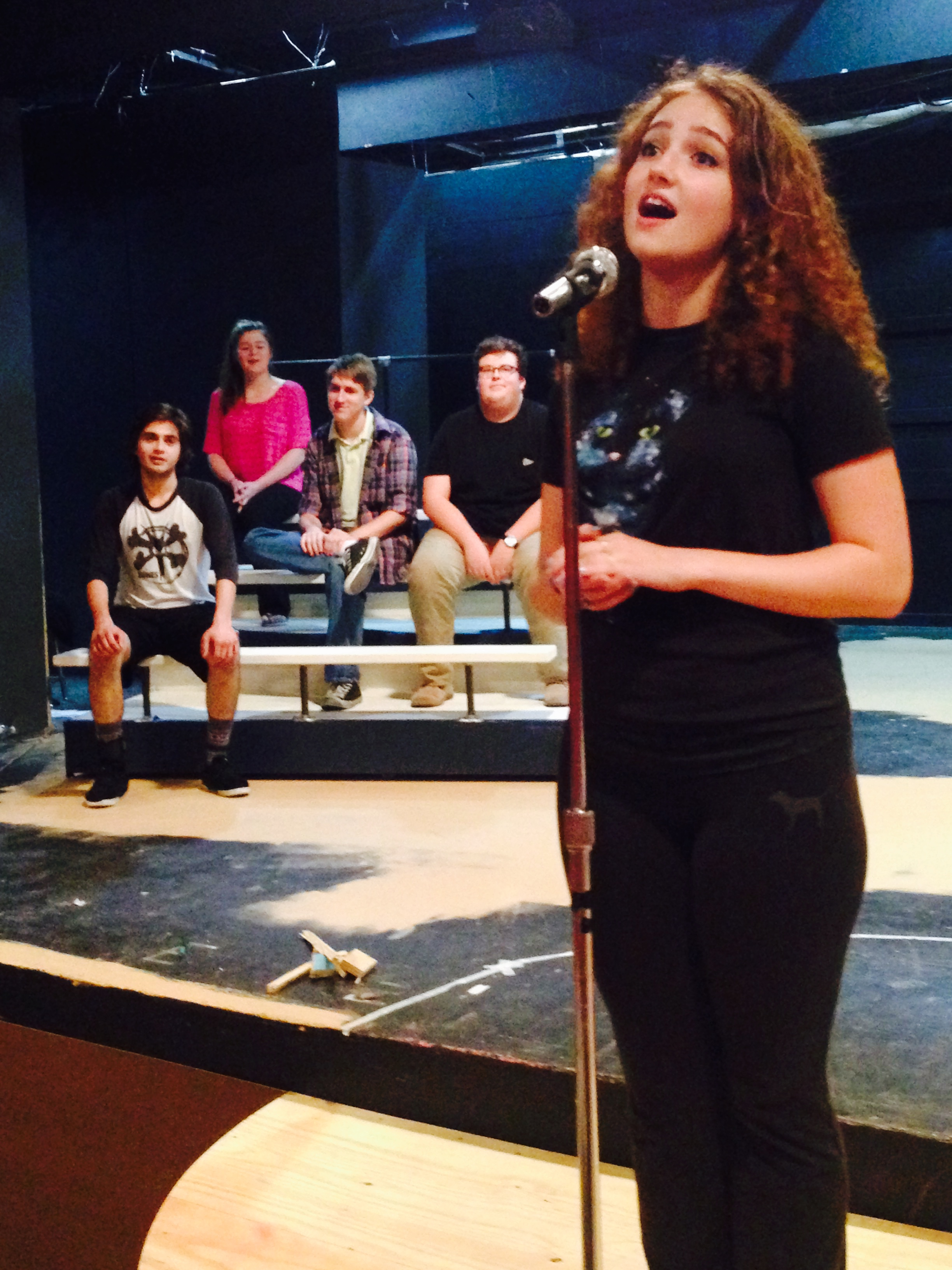 GHS senior Sydney Armstrong said she loves the challenge of perfecting her role in the PPP's upcoming musical while also managing her time among a number of other major theatre and TV projects.