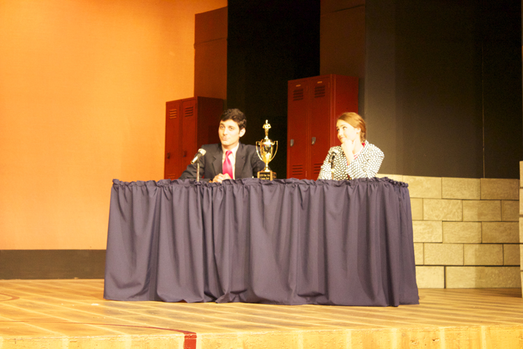Joining Perretti at the judges table is vice principal Douglas Panch, played by Arafat Quran.