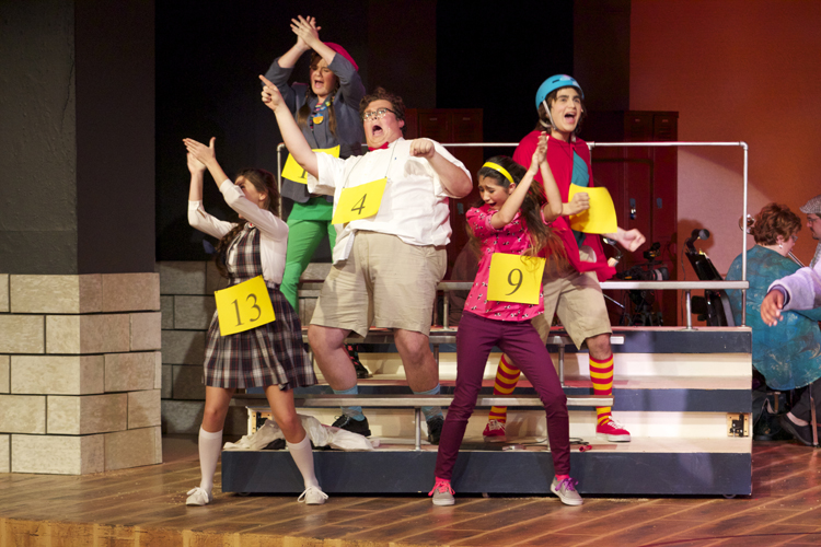 The spellers are all oddball characters who keep the show lively and entertaining.
