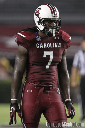 Junior defensive end Jadeveon Clowney's performance sparked a seemingly endless debate on his character, willpower, conditioning, etc.