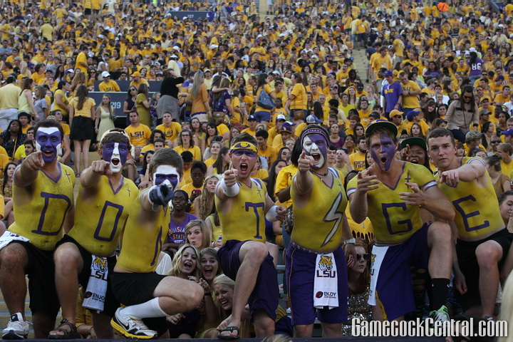 Some Gamecocks said LSU, home of one of the wildest crowds in the country, was the craziest trip they've been on.