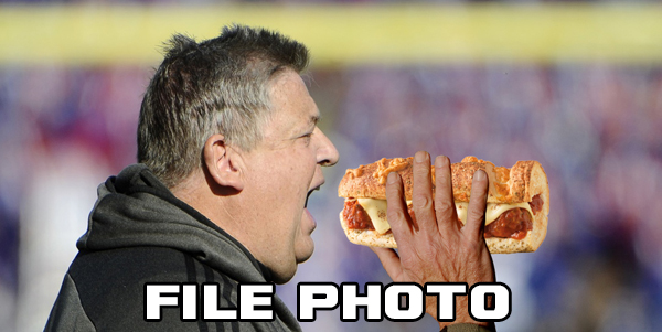 Totally un-doctored photo. Original photo by USATSI.