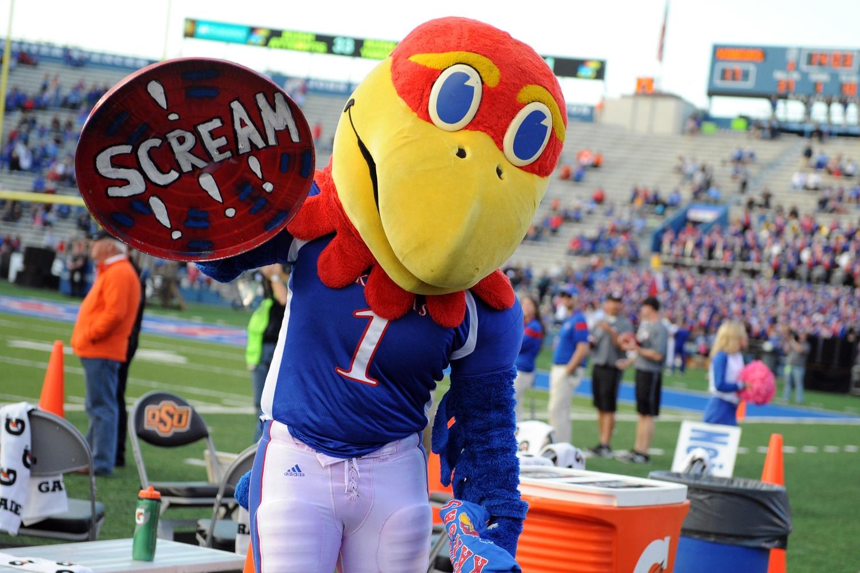 Please, I have to watch Kansas football. I'm already screaming in terror.