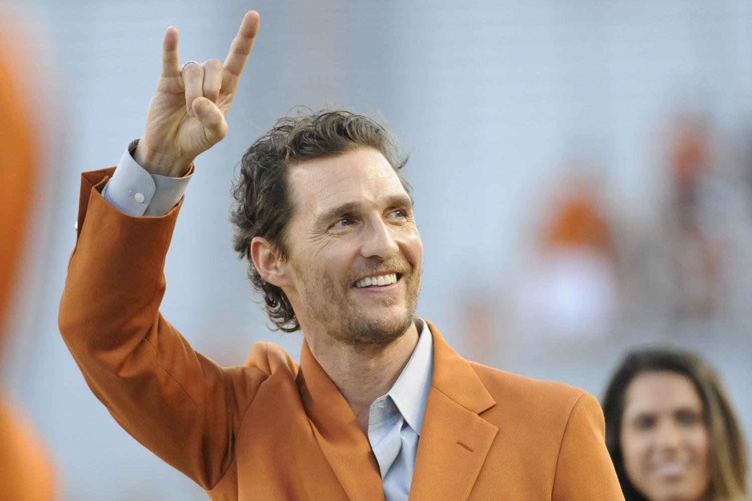 Fun fact: Matthew McConaughey was born in Uvalde, TX, twice the home of the World Gliding Championships. Hang-gliding seems like an appropriately chill activity for Matthew to enjoy.