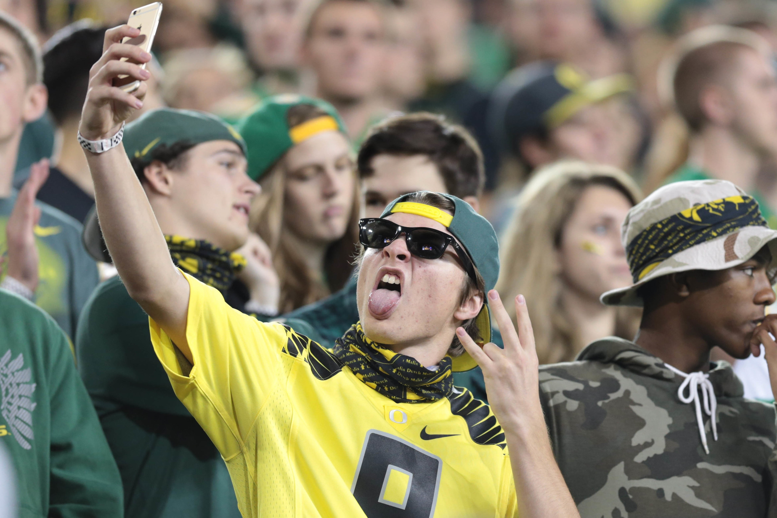 """The most undoable young man in the entire state of Oregon. Is he doing """"the shocker"""" thing? Jesus, Dane Cook was born 2000-and-late."""