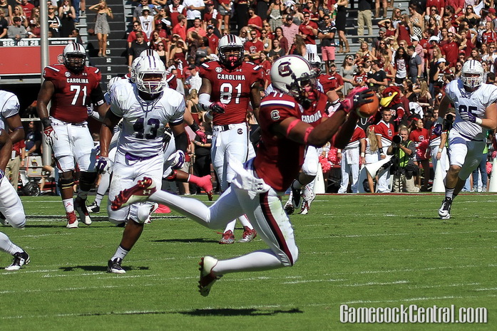 Staff Photo by Paul Collins: Cooper had 966 receiving yards during the regular season.