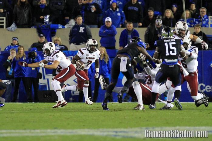 Staff Photo by Paul Collins: Carson had 606 return yards this season, averaging 20.2 per return.