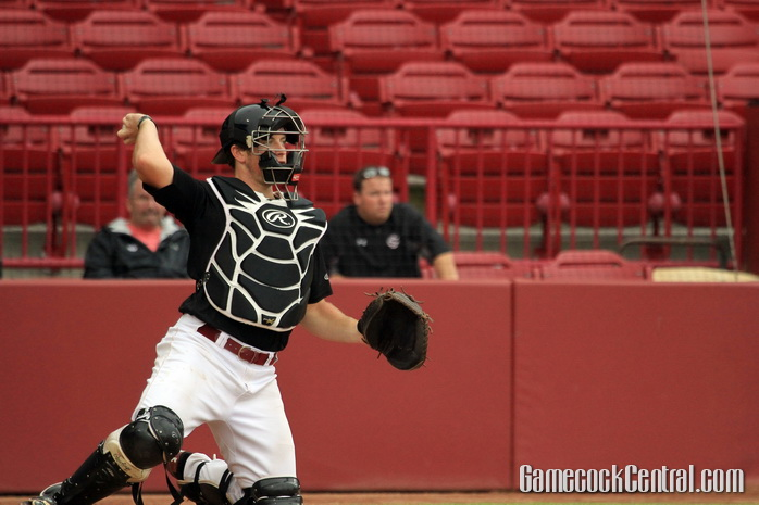 Staff Photo by Paul Collins: Taylor could be South Carolina's catcher of the future.