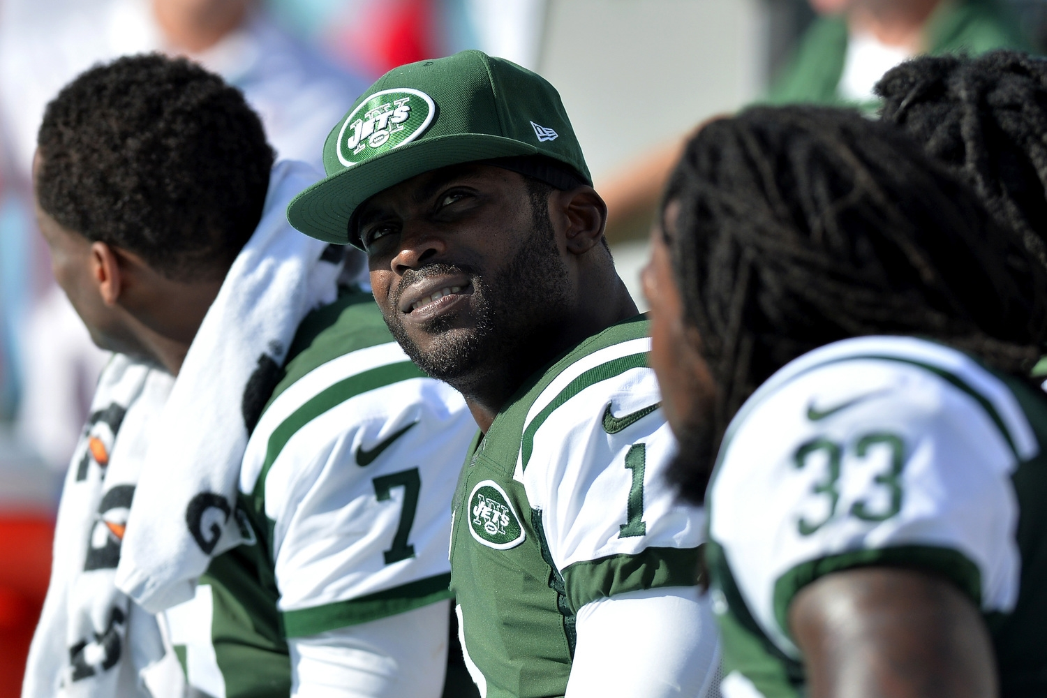 That moment when you realize you're not good enough to start for the freakin' Jets.(pic via USATSI)
