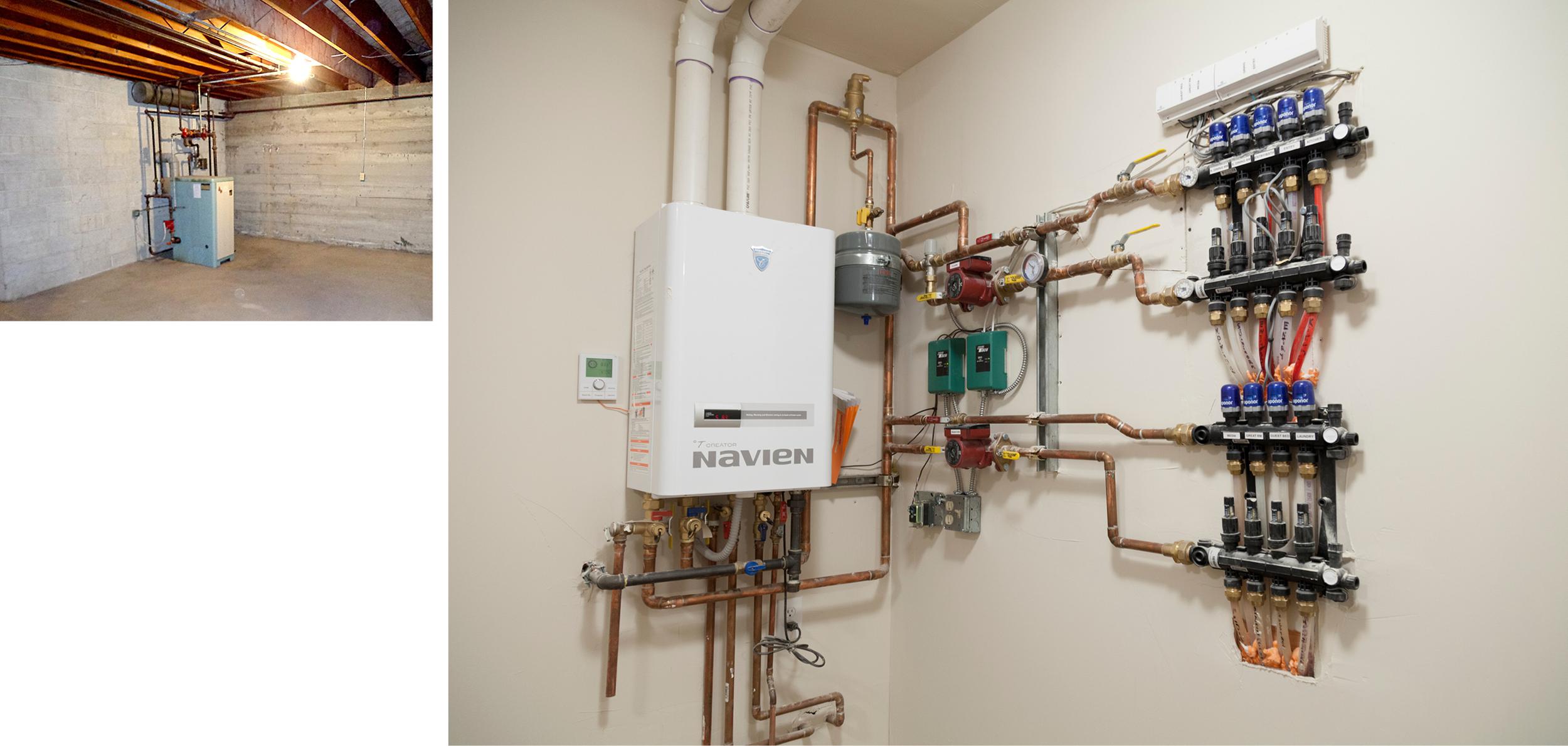 Radiant Heating Boiler