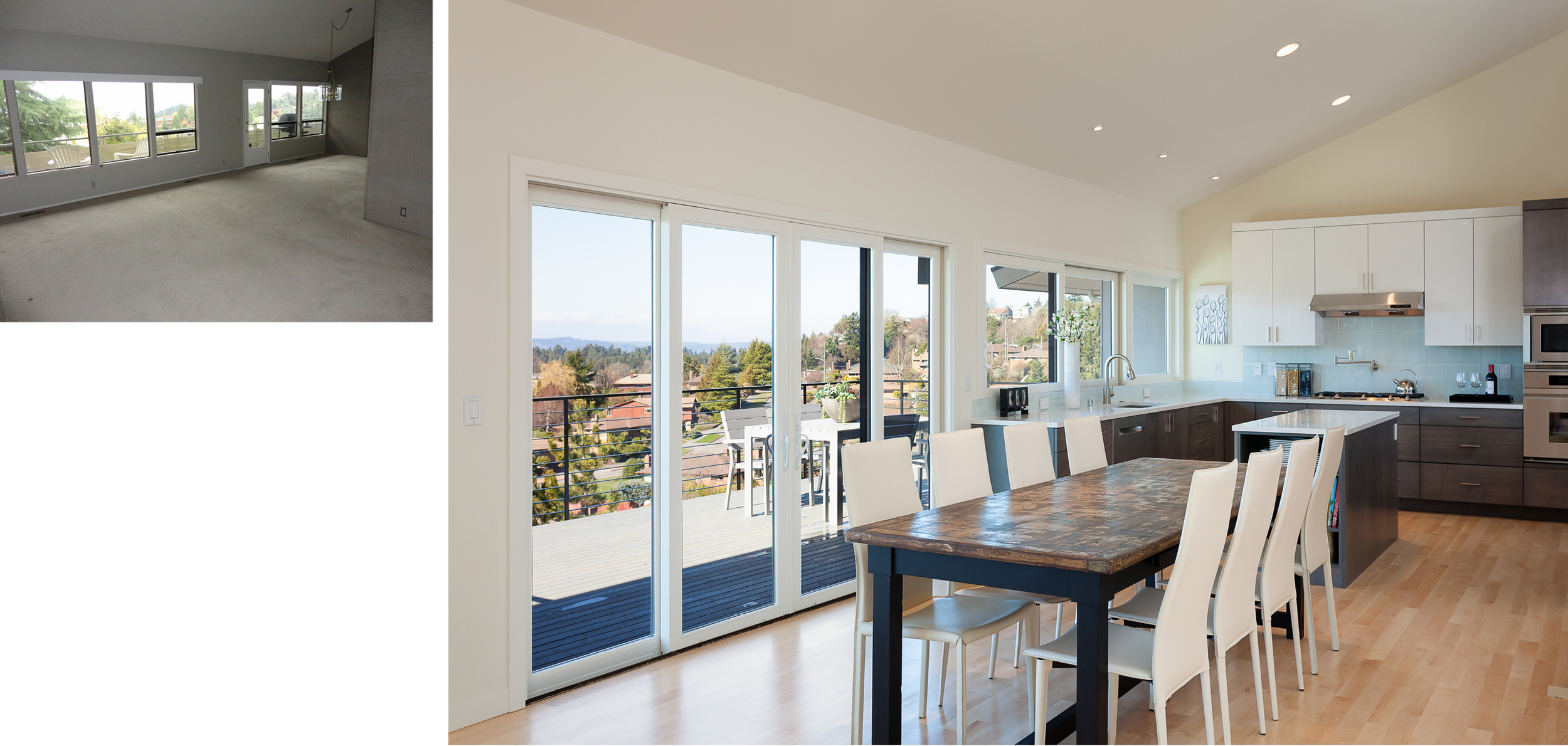 Dining Room & Kitchen to Deck