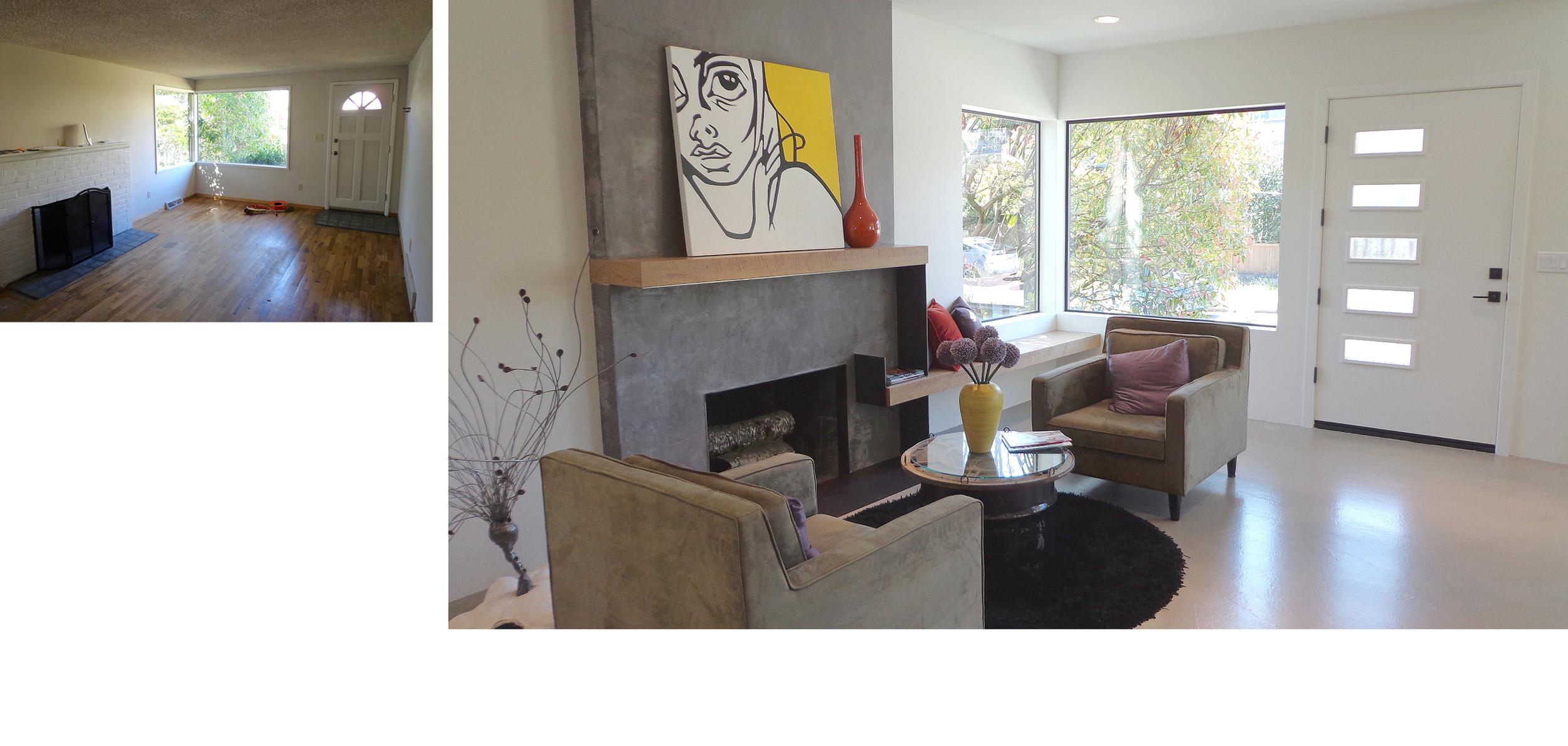 Original Fireplace Transformation