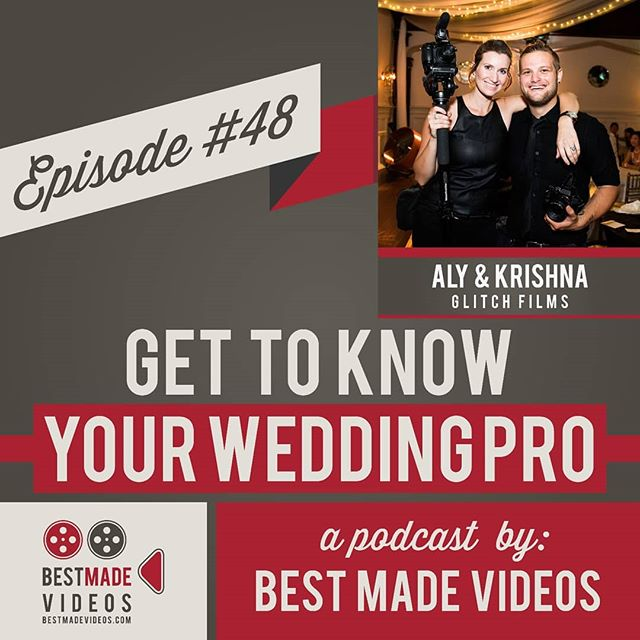 EPISODE DROPPED TODAY: Hear about how two smelly kids fresh out of rehab started a successful wedding videography business by breaking rules and taking risks in this interview with Reid Johnson from @bestmadevideos on his awesome @gettoknowyourweddingpro podcast  Listen on iTunes or click the link in our bio.