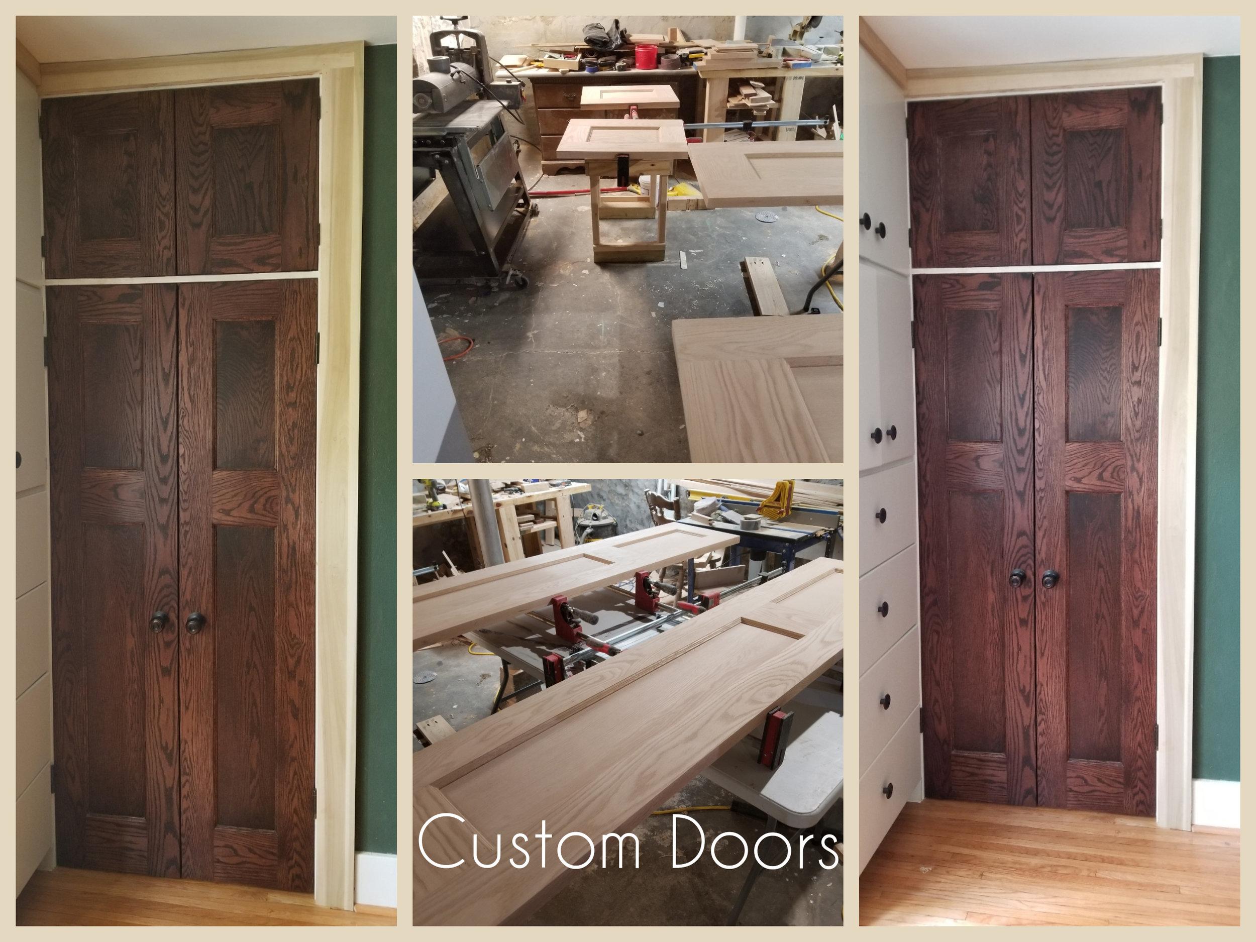 Custom Doors - pantry, closet, bedroom etc…