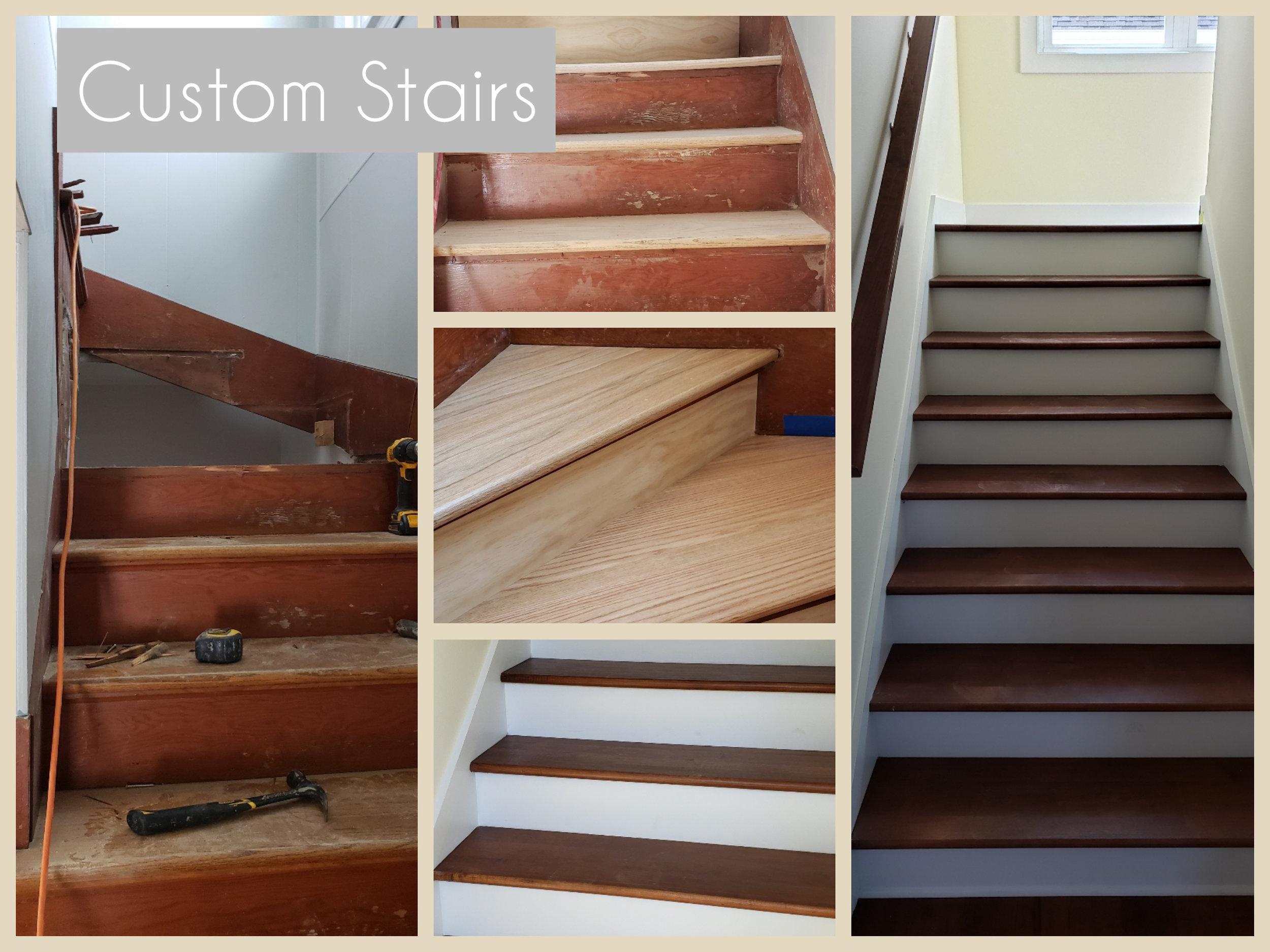 Custom stairs -