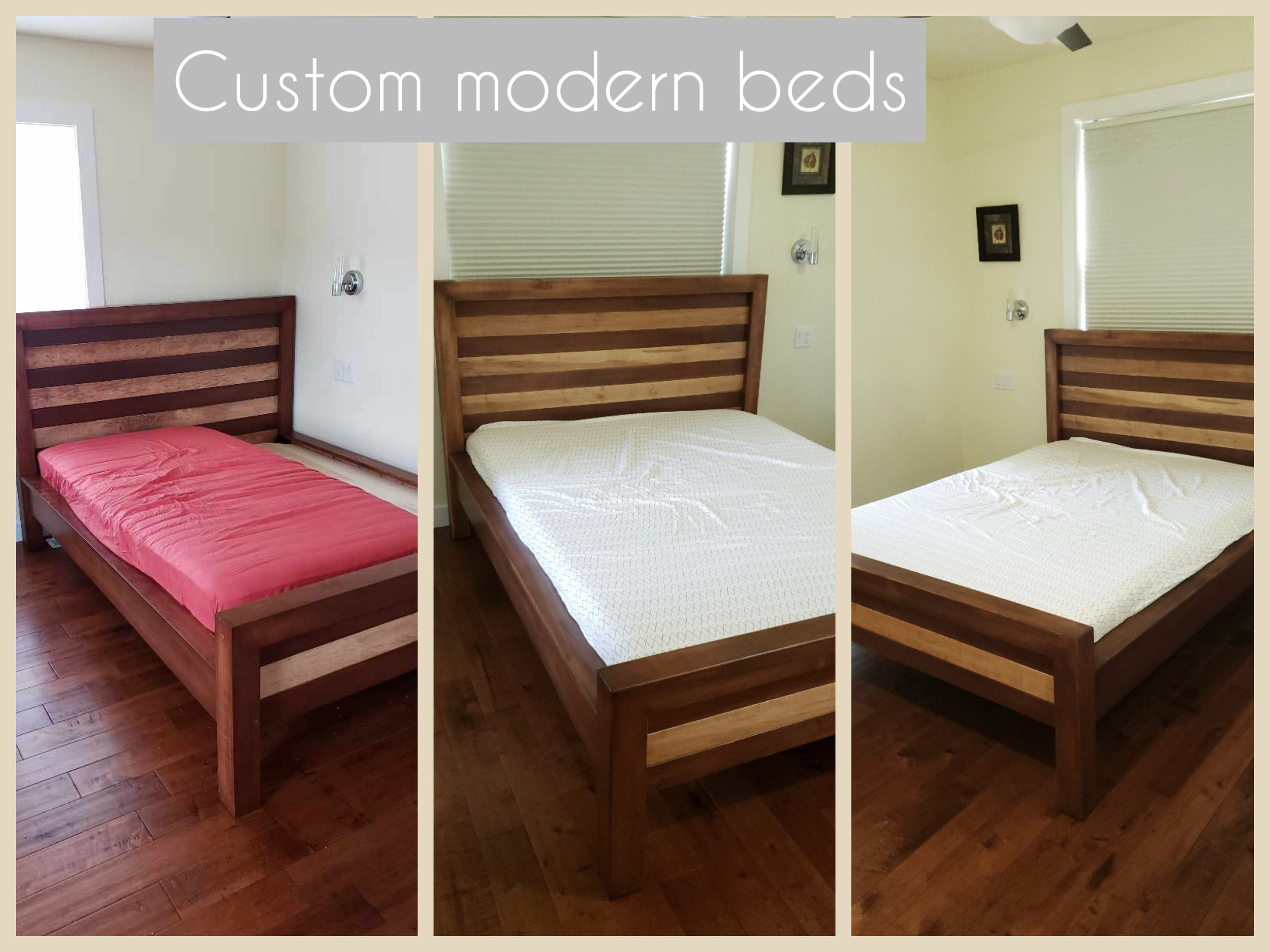 Custom beds - Modern, traditional, rustic, classic