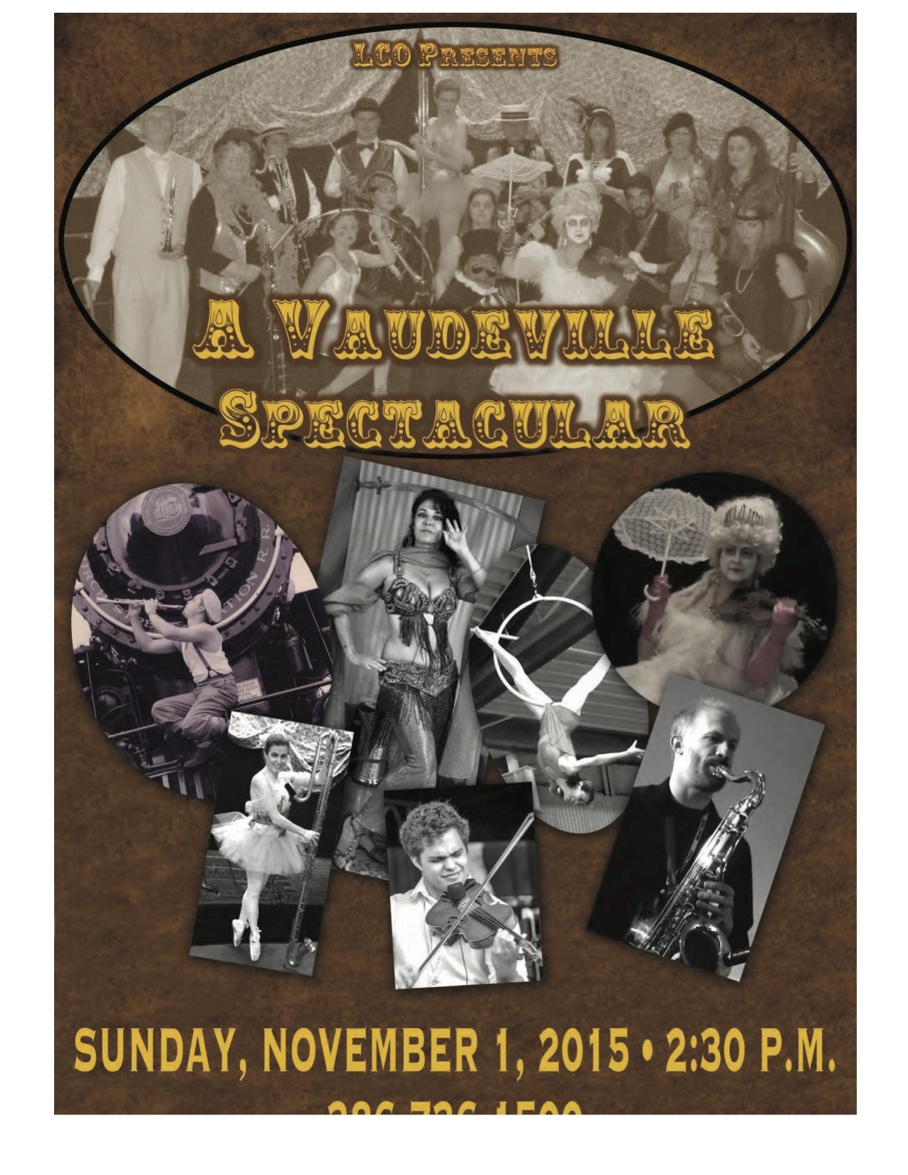 LICORICE STICKS - A Vaudeville Spectacular