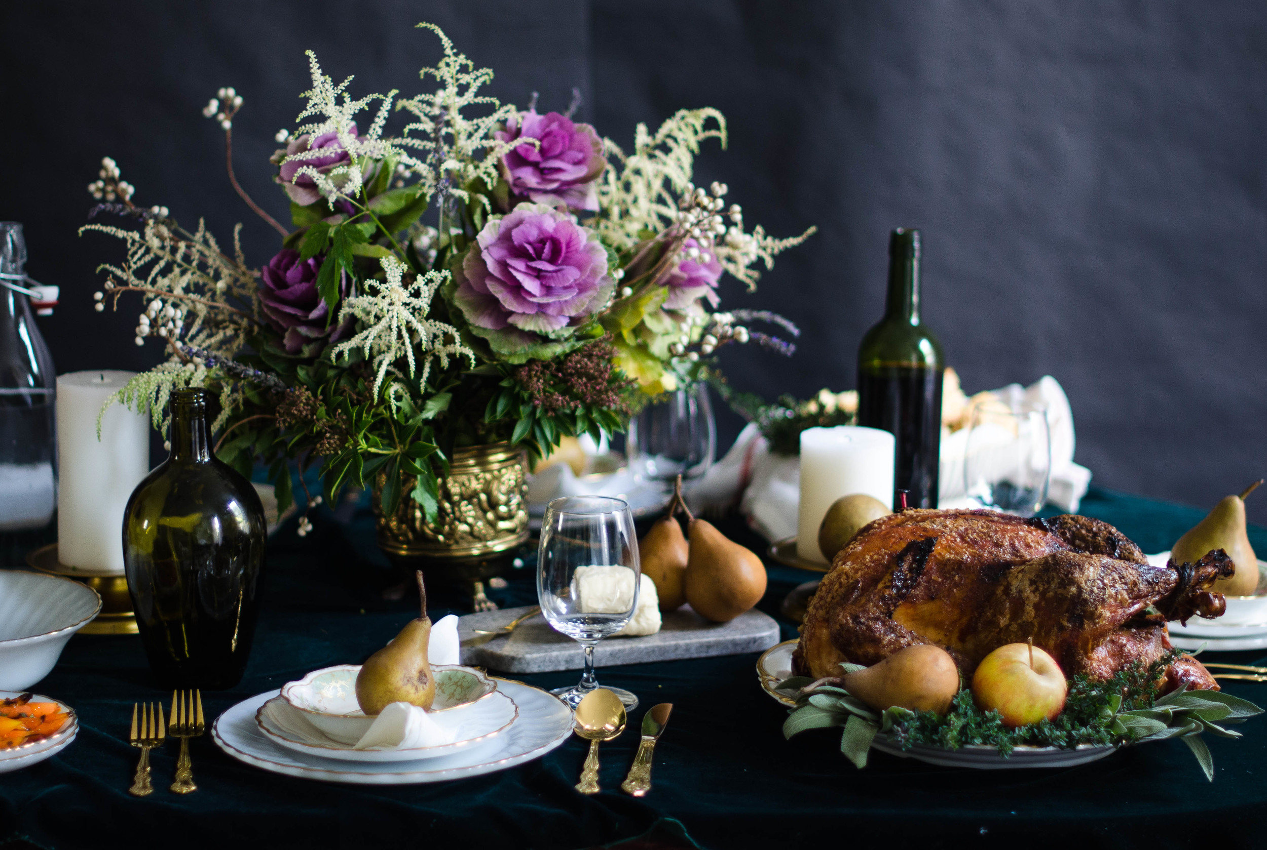 ROSE & IVY JOurnal Thankgiving Table Setting