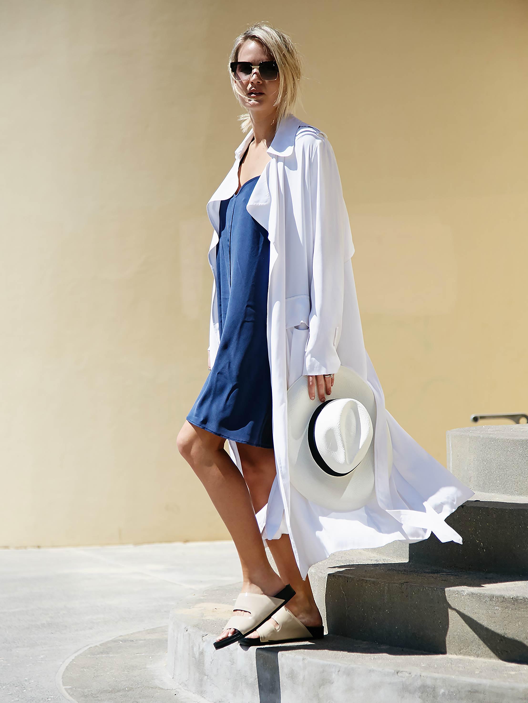Australian fashion blogger,  Brook Testoni