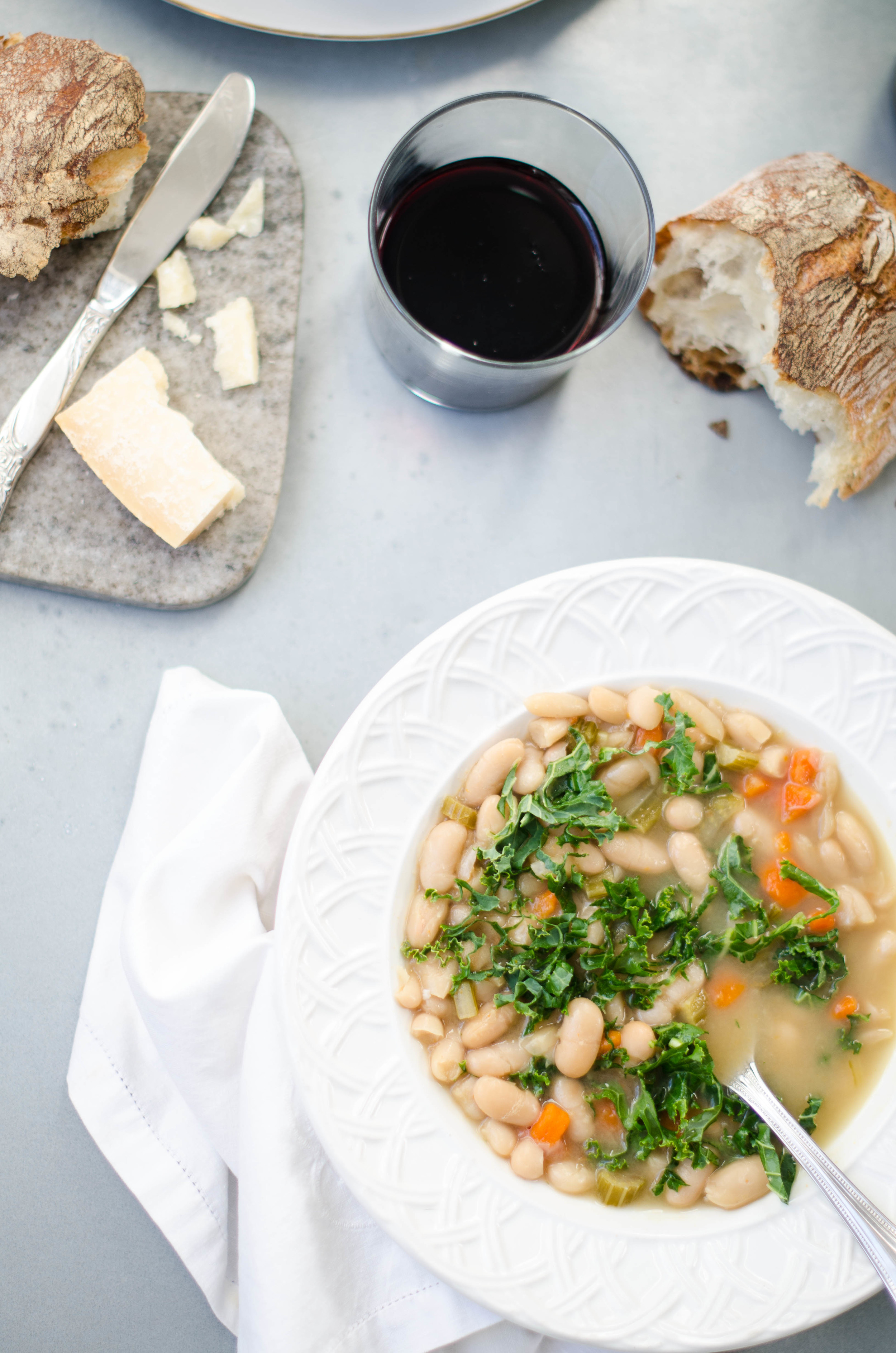 ROSE & IVY JOURNAL WINTER 2015 WHITE BEAN AND KALE SOUP
