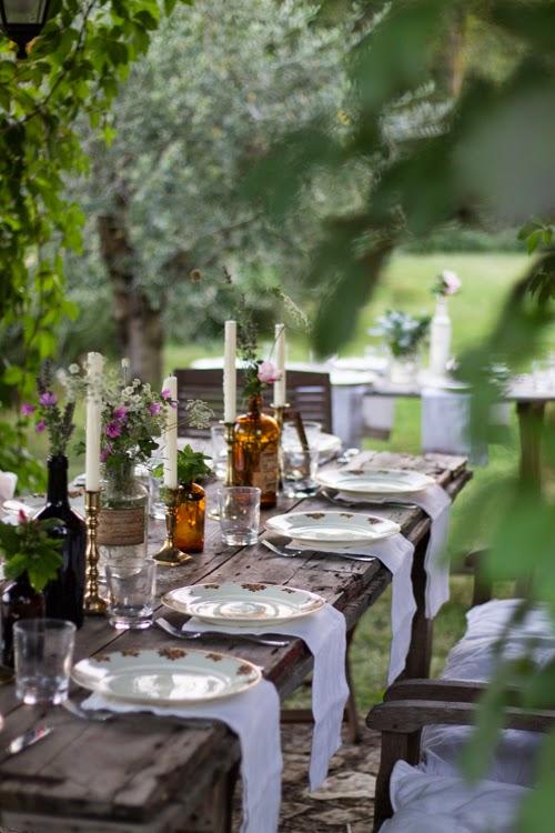 rose & ivy journal spring living tableware ideas